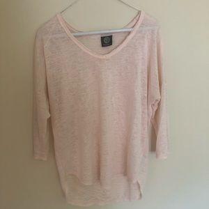 Pink Quarter Sleeve, Nordstrom Size S/M